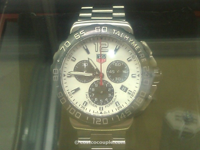 TAG Heuer Formula 1 White Costco 3
