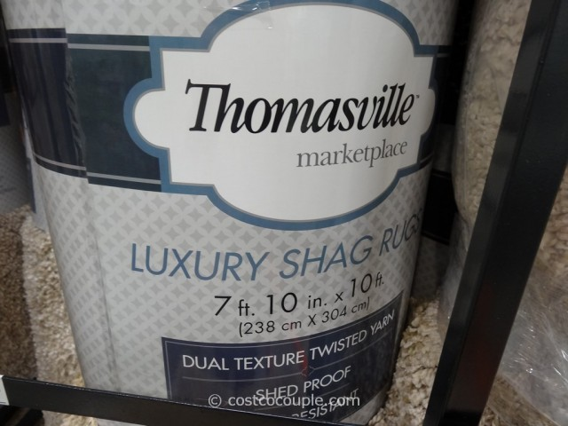 Thomasville Luxury Shag Rug Costco 5