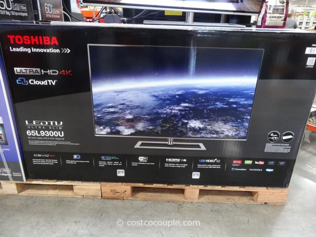 Toshiba 65-Inch Ultra HD 4K LED TV 65L9300U Costco 1