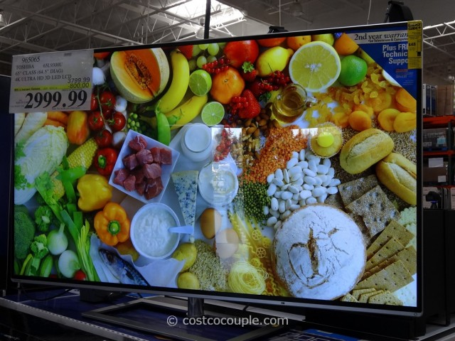 Toshiba 65-Inch Ultra HD 4K LED TV 65L9300U Costco 3
