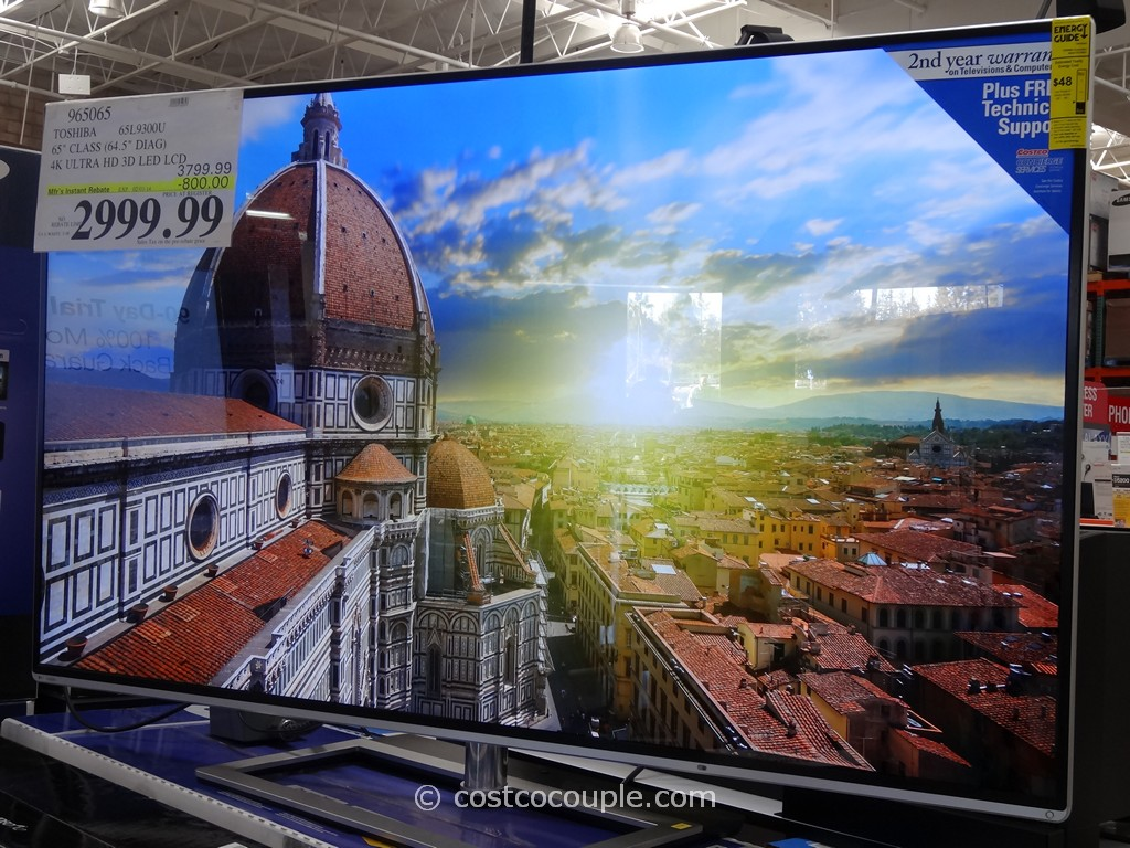 Toshiba 65-Inch Ultra HD 4K LED TV 65L9300U