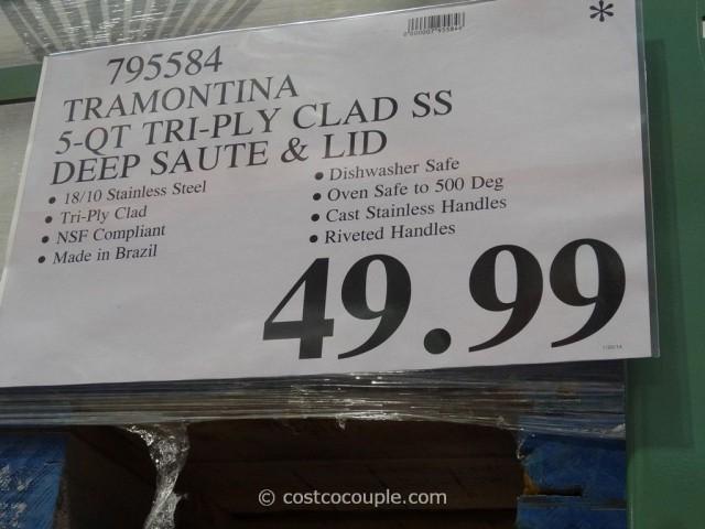 Tramontina 5 Qt Deep Saute Pan Costco 3