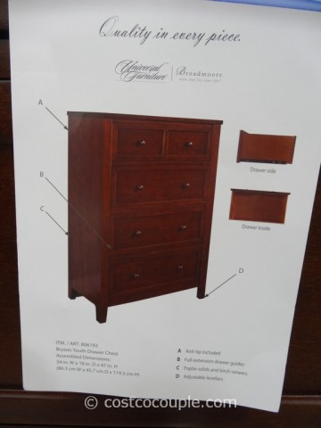 Universal Furniture Bryson Drawer Chest Costco 6