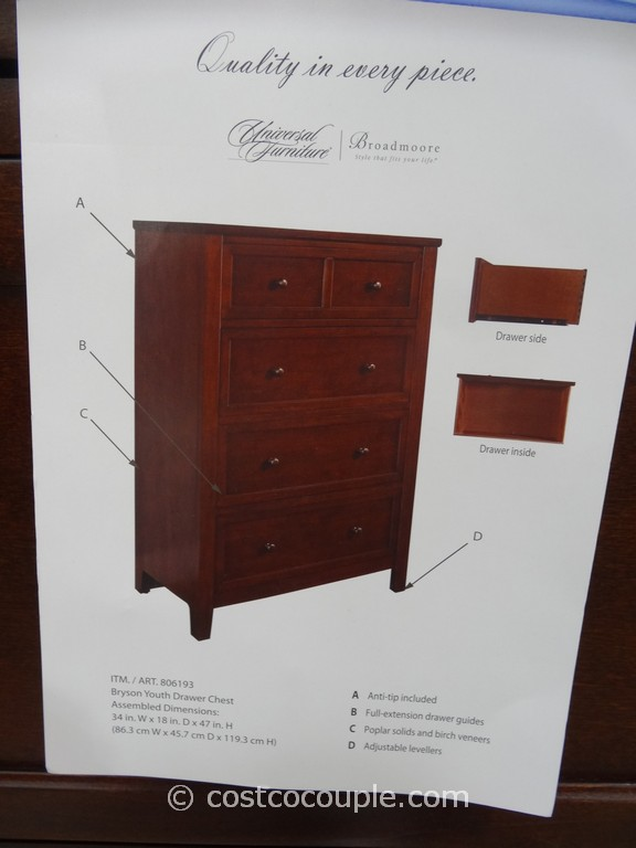 Universal Furniture Bryson Drawer Chest