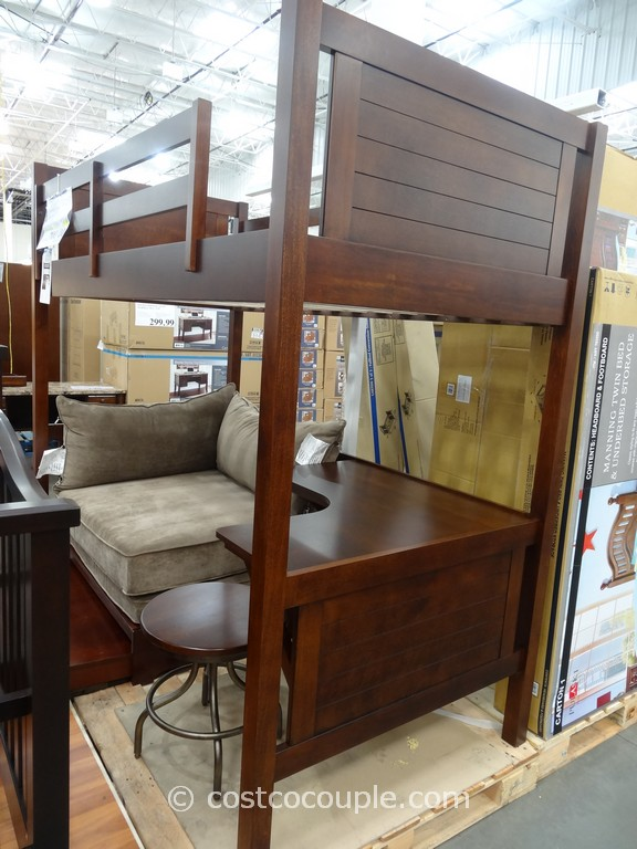 Costco Loft Bed with Desk 576 x 768
