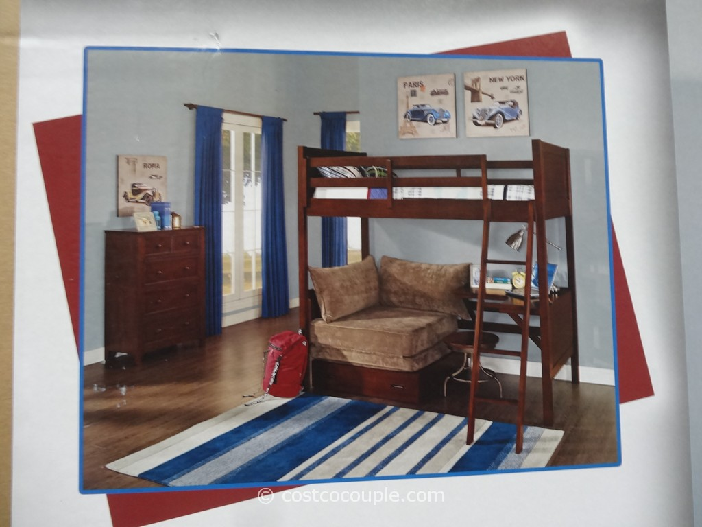 Confidence White Wood Bunk Beds For Kids Fantastic Home Design