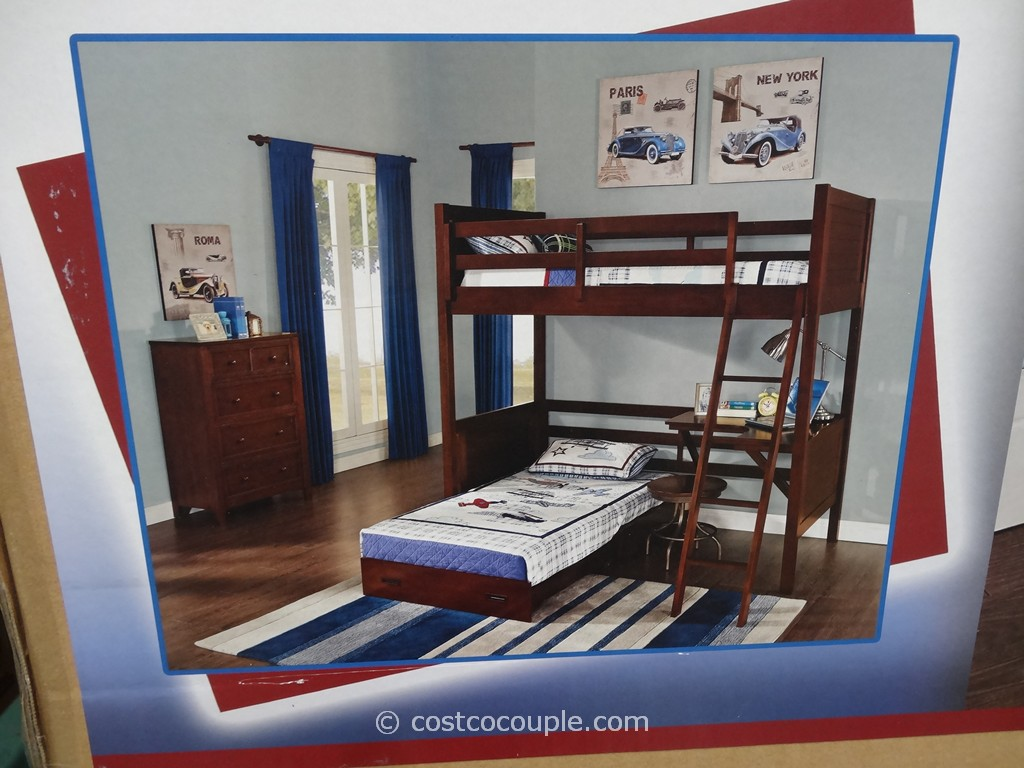 Universal Furniture Bryson Twin Bunk Bed Costco 8