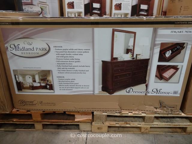 Universal Furniture Midland Park Dresser and Mirror Costco 4