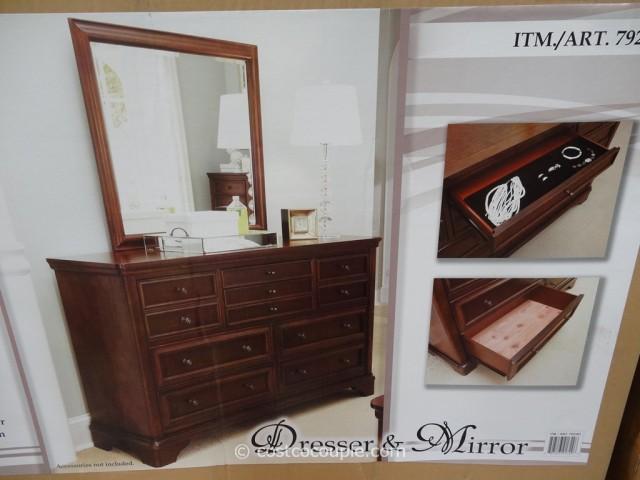 Universal Furniture Midland Park Dresser and Mirror Costco 6
