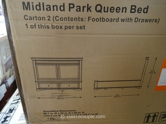 Universal Midland Park Bed Costco 3