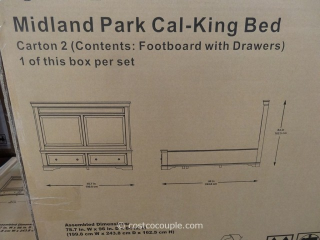 Universal Midland Park Bed Costco 4