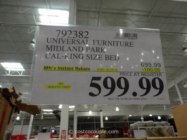 Universal Midland Park Bed Costco 6