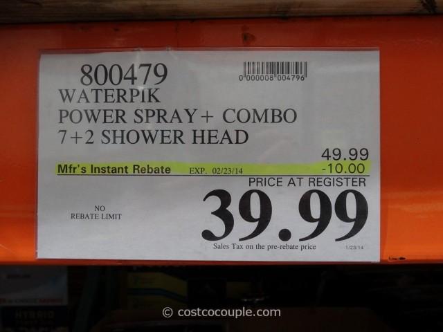 Waterpik Power Spray Shower System Costco 5