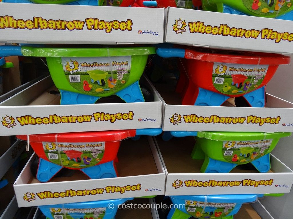 Wheelbarrow Playset Costco 1
