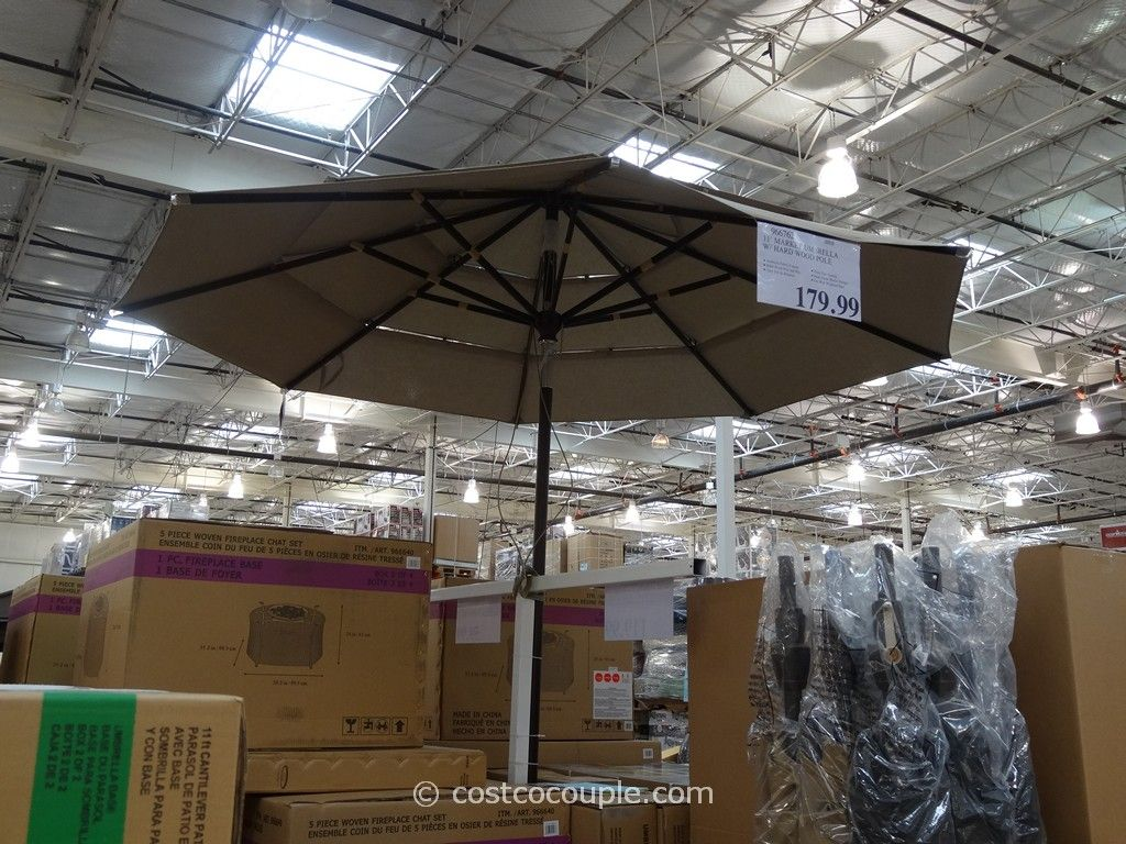 11 foot patio umbrella cheap 11 foot market umbrella costco ft