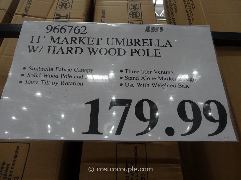 ... 11 Ft Market Umbrella Costco 2 - 11 Ft Market Umbrella