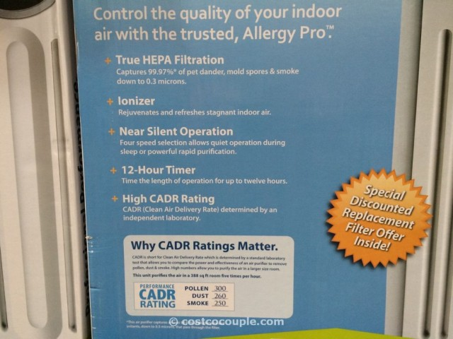 Allergy Pro Air Purifier Costco 2