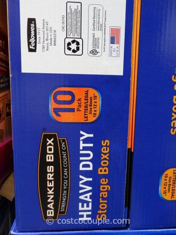 Bankers Box Heavy Duty Storage Boxes Costco 3