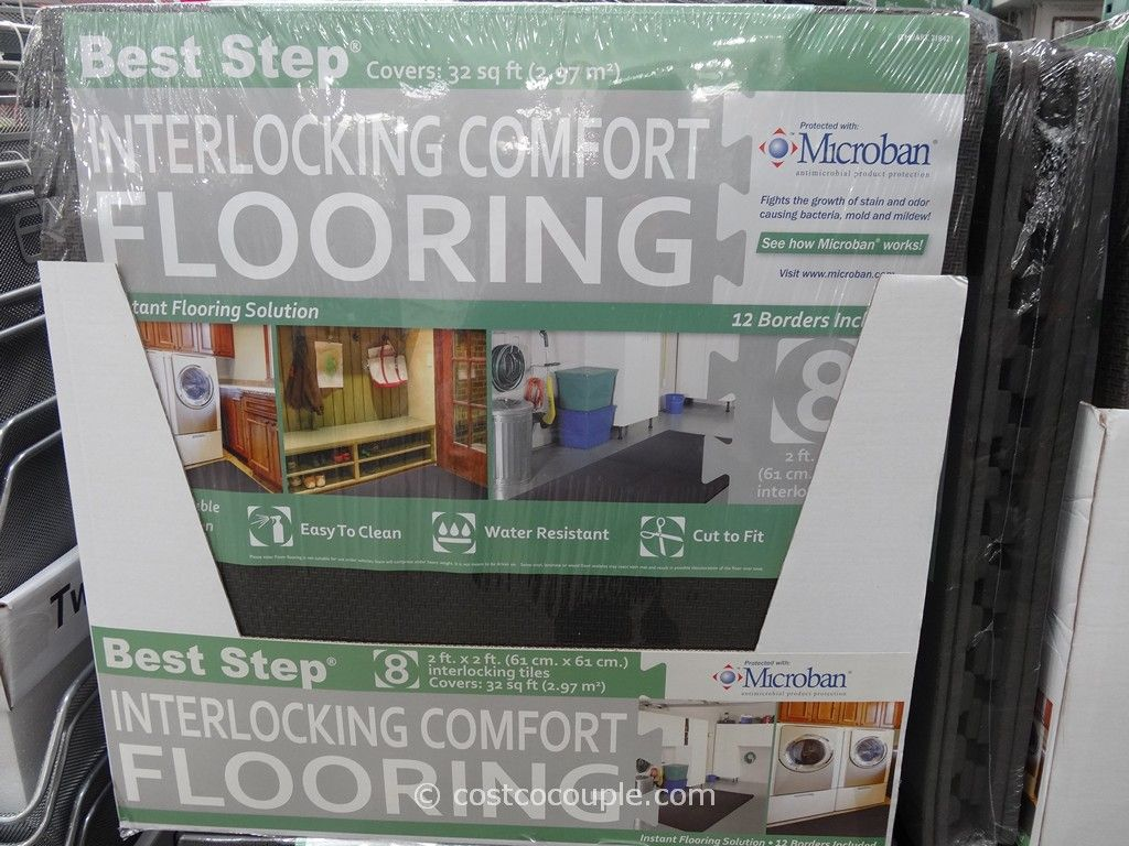 Best Step Interlocking Comfort Flooring