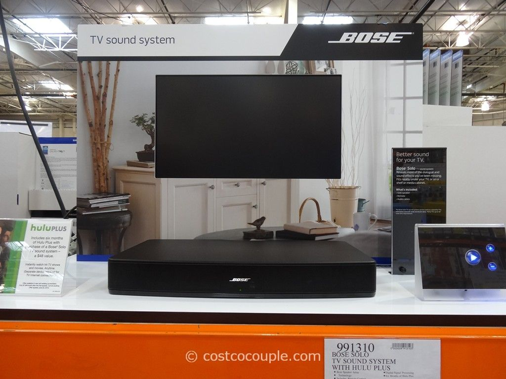 Bose Solo TV Sound System Costco 1