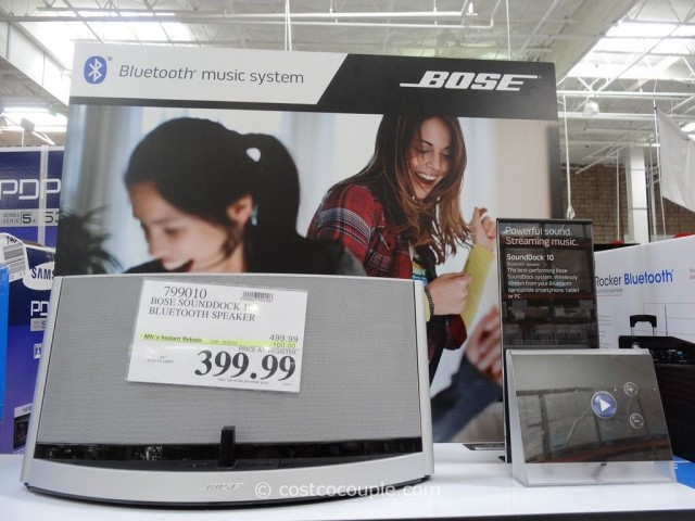 Bose Soundock 10 Bluetooth Speaker Costco 2