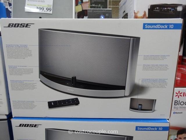 Bose Soundock 10 Bluetooth Speaker Costco 3
