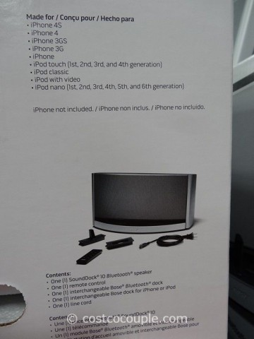 Bose Soundock 10 Bluetooth Speaker Costco 4