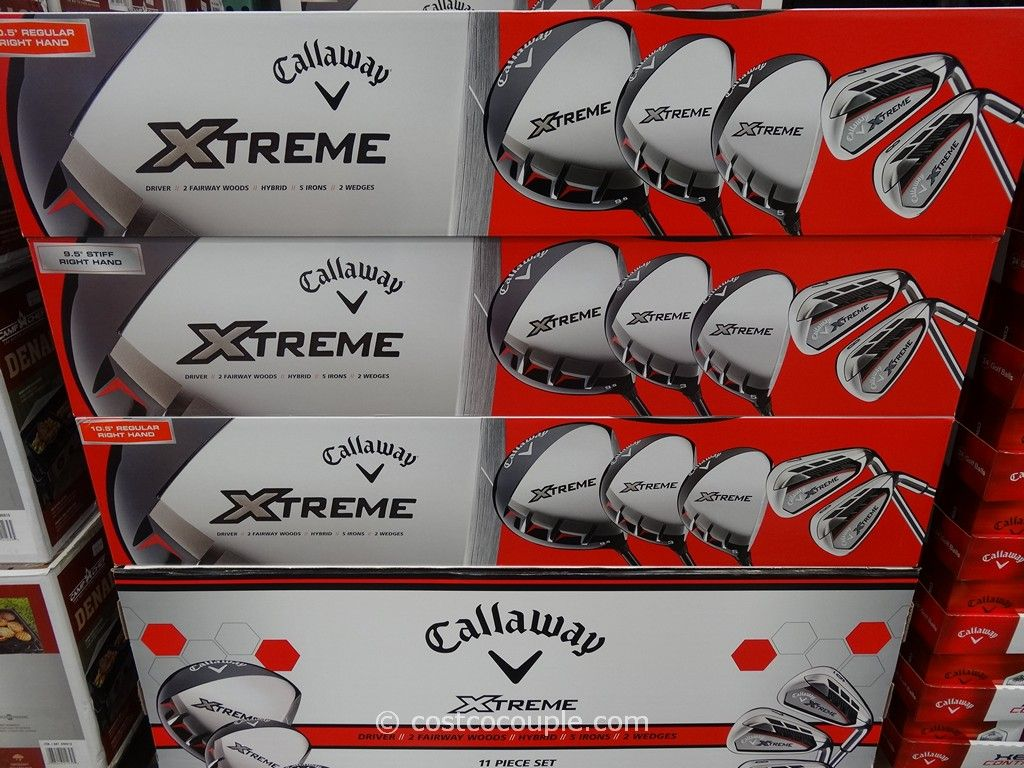 Callaway 11Pc Xtreme Golf Club Set Costco 3