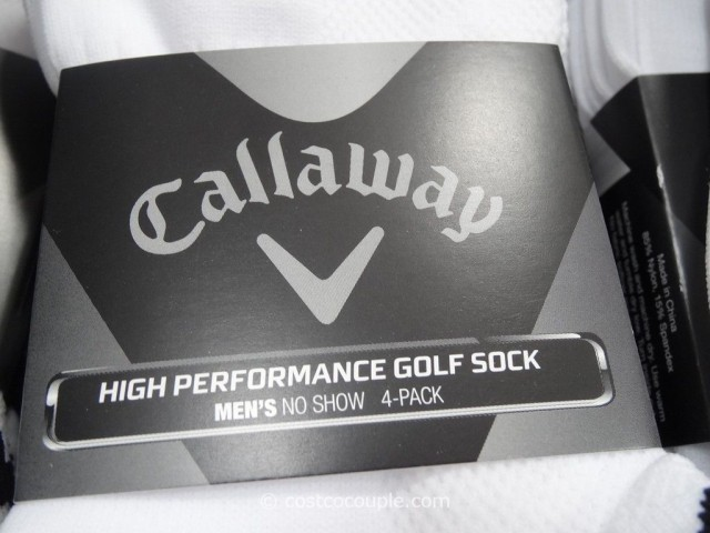 Callaway Mens High Performance Golf Sock Costco 2