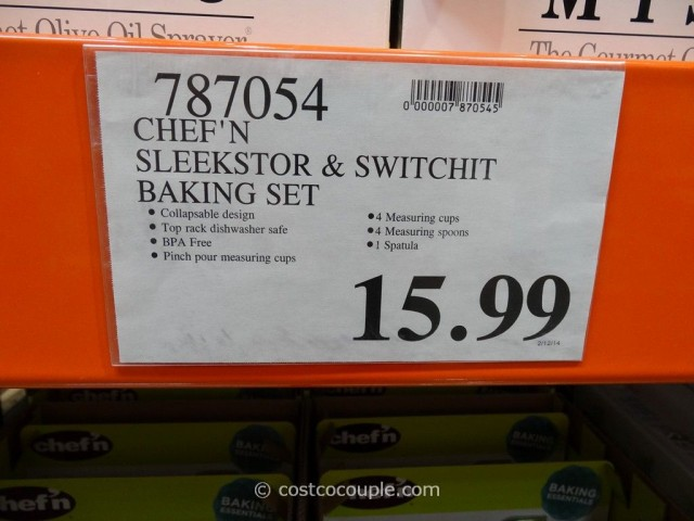 Chef N Sleekstor Baking Set Costco 2