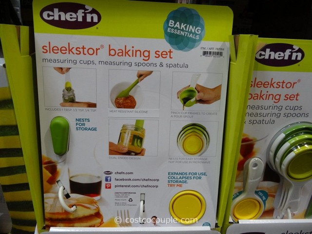 Chef N Sleekstor Baking Set Costco 3