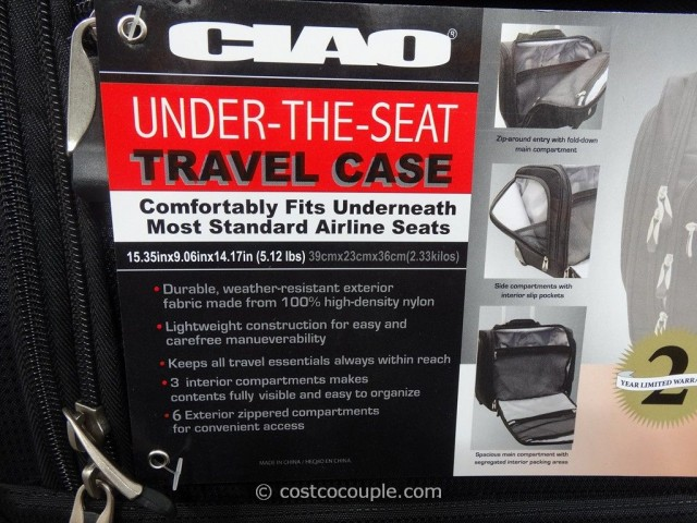 Ciao Under-The-Seat Travel Case Costco 5