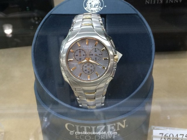 Citizen Eco Drive Chronograph Two Tone Costco 2