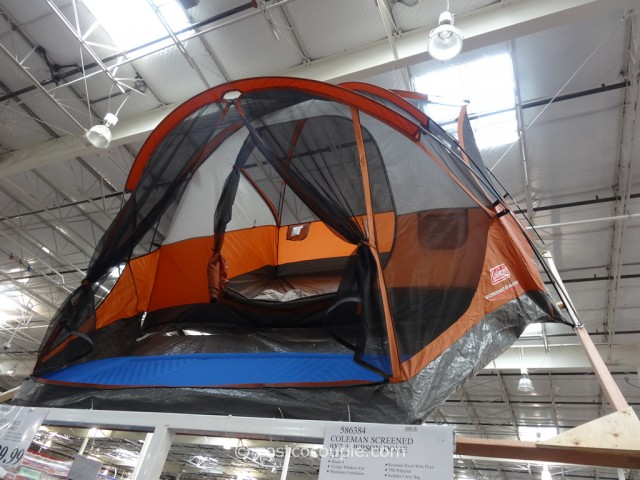 & Coleman Screened 4 Person Evanston Tent