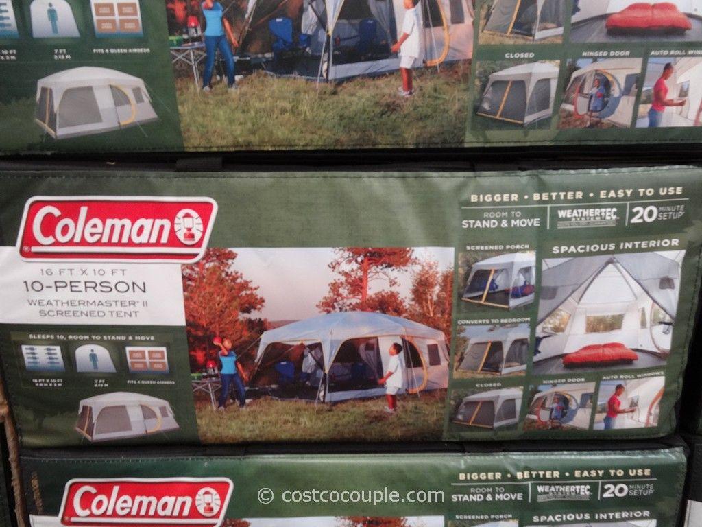 Coleman Weathermaster II 10 Person Screened Tent Costco 3