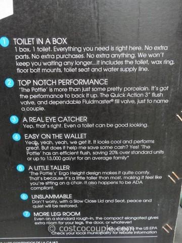 Danze 1-Piece High Efficiency Toilet Costco 3