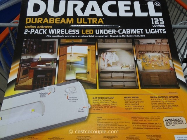 Duracell LED Undercabinet Light Costco 3