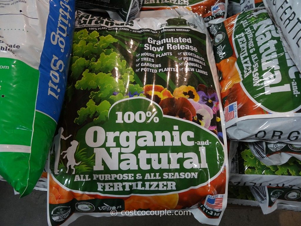EcoTrac Organics Garden Grande Organic and Natural Fertilizer Costco 2