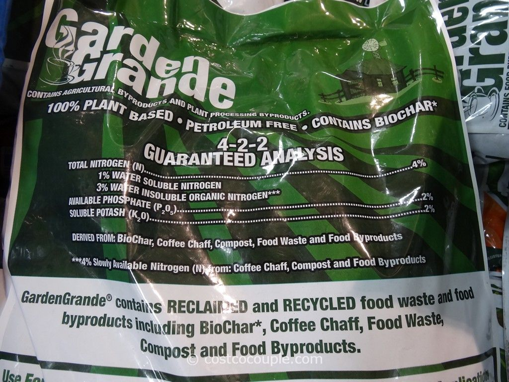 Ecotrac Organics Garden Grande Organic And Natural Fertilizer
