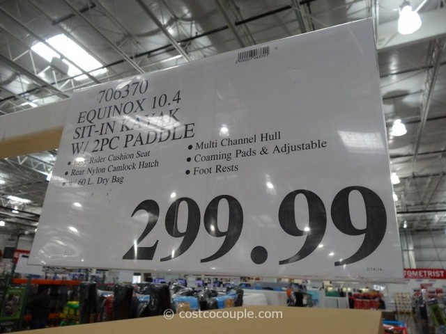 Equinox 10.4 Sit-In Kayak Costco 2