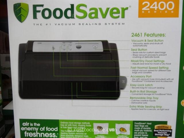 Foodsaver V2461 Vacuum Sealing System Costco 3