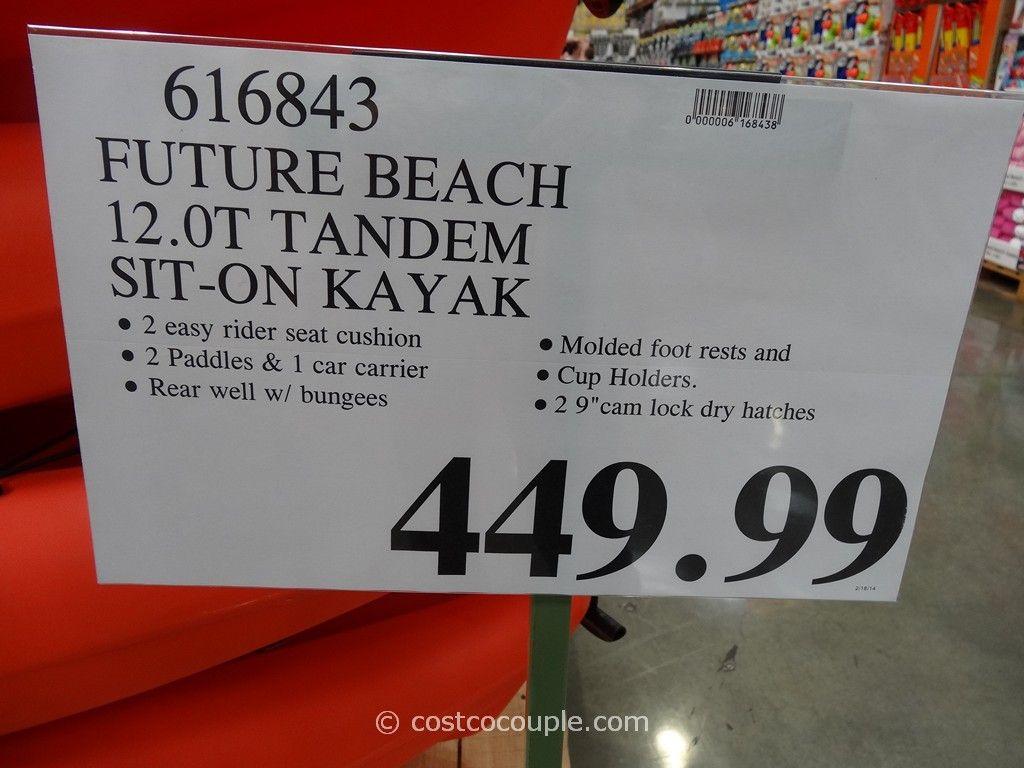 2 Person Kayak Costco >> Future Beach 12 0t Tandem Sit On Kayak