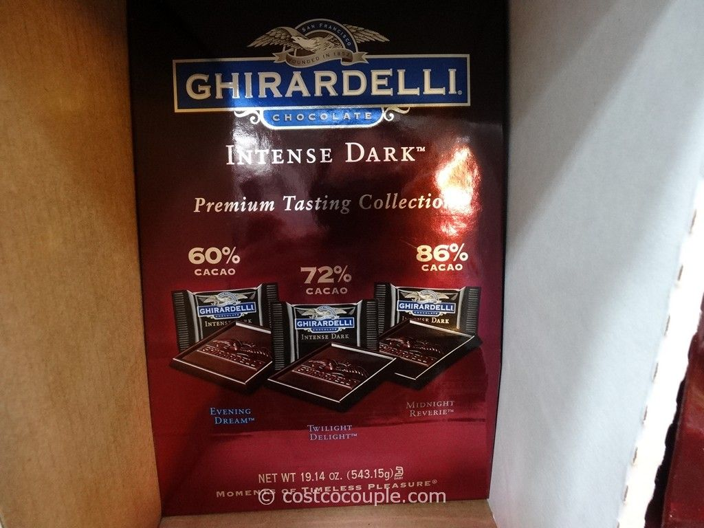 Ghirardelli Intense Dark Collection Costco 2