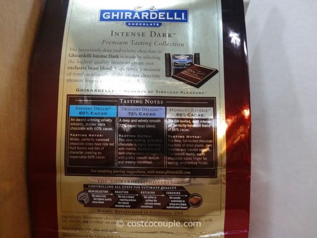 Ghirardelli Intense Dark Collection Costco 3