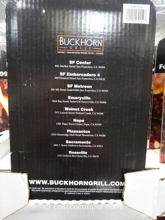 Buckhorn Grill Gift Card