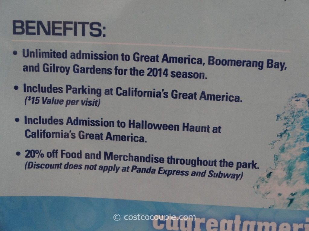 Great America 2014 Season Pass