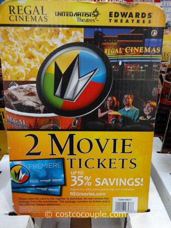 Regal Cinemas Movie Ticket Gift Card