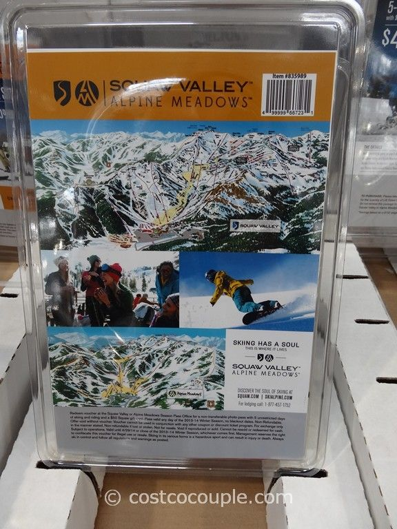 Gift Card Squaw Valley Costco 3