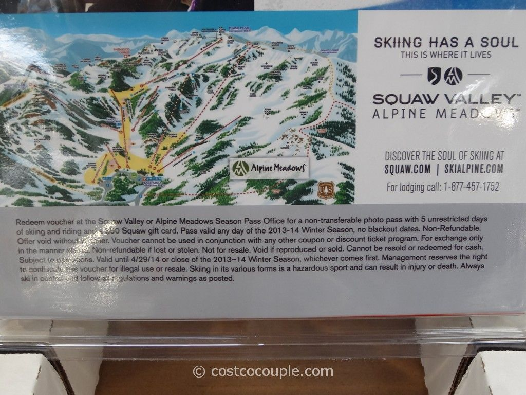 Coupons squaw valley