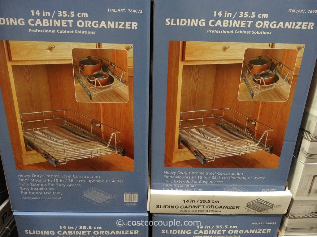 Gourmet Select Sliding Cabinet Organizer Costco 2
